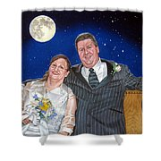 Dave And Sue Shower Curtain