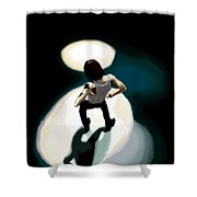 Dave Gahan From Condemnation Live Shower Curtain