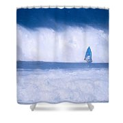 Dave Nash At Hookipa Shower Curtain by Erik Aeder - Printscapes