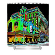 Davenport Hotel Downtown Spokane Shower Curtain