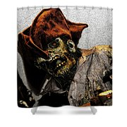 Davey Jones Shower Curtain by David Lee Thompson