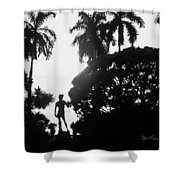 David At The Ringling Museum Shower Curtain