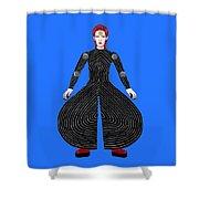 David Bowie - Moonage Daydream Shower Curtain