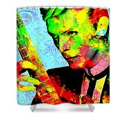 David Bowie Shower Curtain
