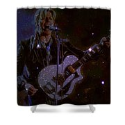 David Bowie Space Oddity  Shower Curtain