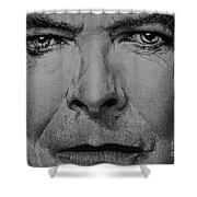 David Bowie - Eyes Of The Starman Shower Curtain