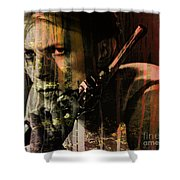 David Bowie / The Man Who Fell To Earth  Shower Curtain