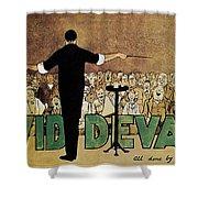 David Devant Poster C1910 Shower Curtain