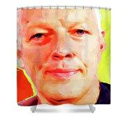 David Gilmour # 001 Nixo Shower Curtain