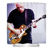 David Gilmour By Nixo Shower Curtain