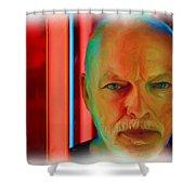 David Gilmour Red,nixo Shower Curtain