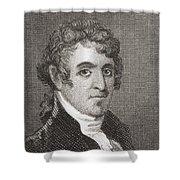 David Humphreys,1752 To 1818 Shower Curtain