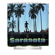 David In Sarasota Shower Curtain