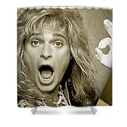 David Lee Roth Collection Shower Curtain