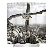 David's Memorial Shower Curtain