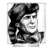 Davy Crockett Shower Curtain