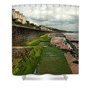 Dawlish Sea Wall Shower Curtain