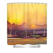 Dawn 10 Shower Curtain