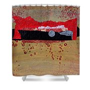 Dawn Ascension Shower Curtain