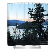 Dawn At Copper Island Shower Curtain