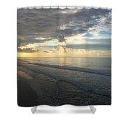 Dawn At Folly Beach Shower Curtain