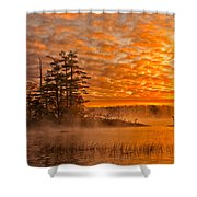 Dawn At Oakfield Provincial Park Shower Curtain