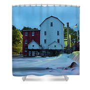 Dawn At Phelps Mill Shower Curtain