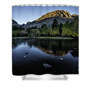 Dawn At Rush Creek 3 Shower Curtain