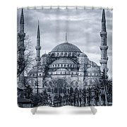 Dawn At The Blue Mosque Shower Curtain