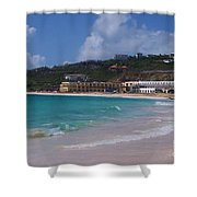 Dawn Beach Shower Curtain
