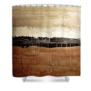 Dawn Shower Curtain by Brian Drake - Printscapes