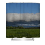 Dawn Clouds In The Southwest Shower Curtain