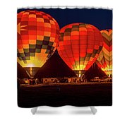 Dawn Color Shower Curtain