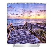 Dawn Colors Shower Curtain