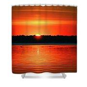 Dawn Early Light Shower Curtain