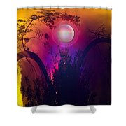 Dawn In A New Era Shower Curtain