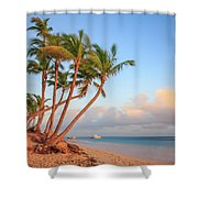 Dawn In Punta Cana Shower Curtain