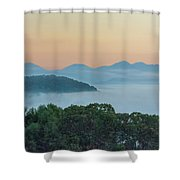 Dawn In The Smokies Shower Curtain