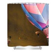 Dawn Launch Balloon Fiestas Albuquerque New Mexico  Shower Curtain