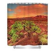 Dawn Light Capitol Reef National Park Utah  Shower Curtain