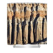 Dawn Light On The Cliffs At Red Rock Shower Curtain