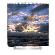 Dawn Of A New Day Treasure Coast Florida Seascape Sunrise 138 Shower Curtain