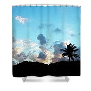 Dawn Of A New Day Treasure Coast Florida Seascape Sunrise 765 Shower Curtain