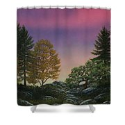 Dawn Of Day Shower Curtain
