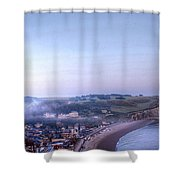 Dawn Of Etretat Shower Curtain
