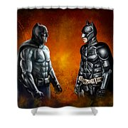 Dawn Of The Dark Knight Shower Curtain