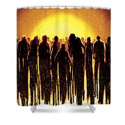 Dawn Of The Dead 2004 Shower Curtain