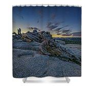 Dawn On Sentinel Shower Curtain
