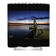 Dawn On Skaneateles Lake Shower Curtain