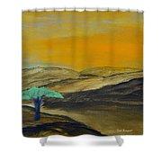 Dawn On The Savannah Shower Curtain